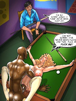 Porn comics with black hungs pounding busty white chicks