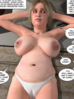 Big boobed 3d shemale gets her balls sucked dry by pretty young babe.