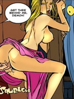 Awesome xxx pics of cartoon ladyboys using their huge cocks to please lusty girls.